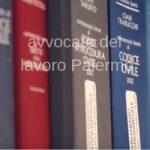 libreria con codici dell'avvocato del lavoro Palermo